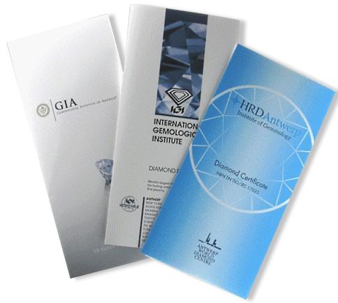 certificati diamanti
